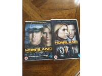 HOMELAND - Complete Set Of Series 1 & 2 - (8 DVDs / 24 Episodes)