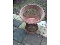 Round Straw Chair £10 free delivery Uxbridge