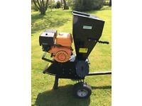 Petrol Garden shredder / chipper