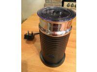 Original Nespresso Aeroccino 3 milk warmer frother, Black, Used once