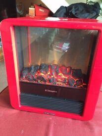 Dimplex micro fire cube