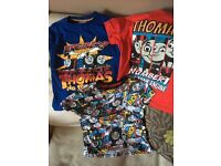 3 lovely nearly new Thomas the tank engine tshirts. Age 4-5 years