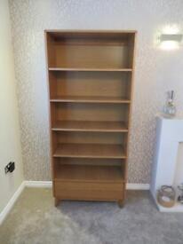Oak bookshelf - Hygena range from Homebase
