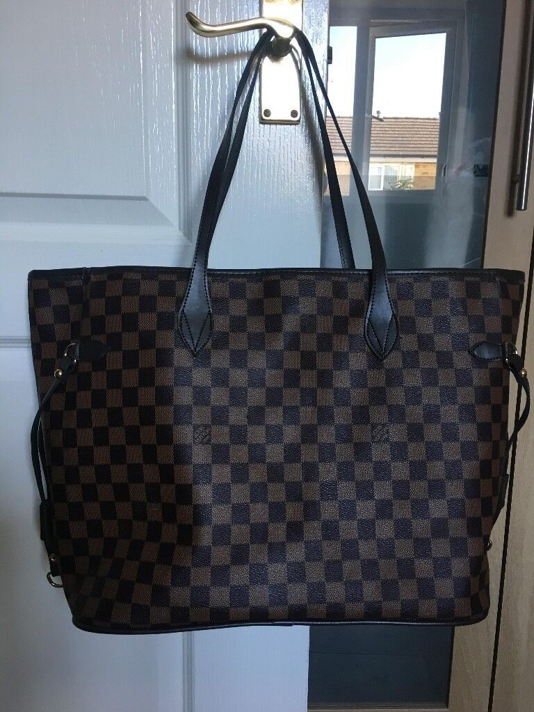 LV bag neverfull damier  ac0179ecc9b4c