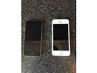 2x I phone 5s 5e spares only