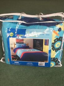 Childrens Single Digger Bedspread