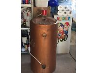 Copper cylinder tank