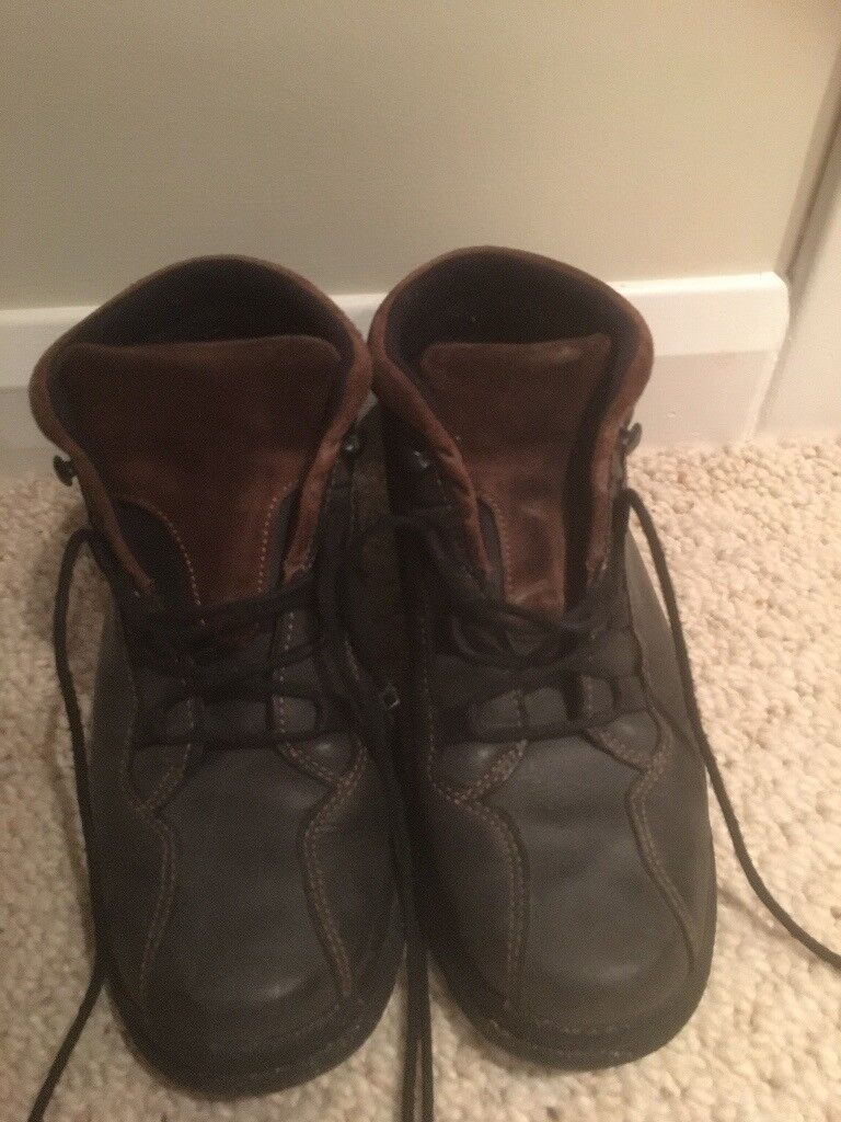 Ladies Leather Sympatex Walking Boots Size 5