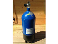 Tortec 12l dumpy scuba cylinder in test until Aug 2018 also in current o2 test