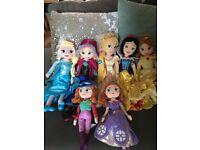 Genuine Disney princess soft dolls