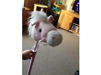 Hobby horse with sounds