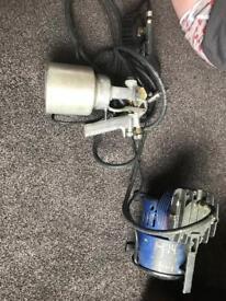Air compressor spray gun hilka