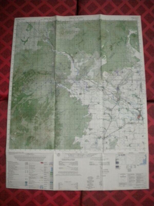 PHAN RANG Air Base USAF 336th 35th TFW 315 TAW 14th SOW Vietnam map 6732 II