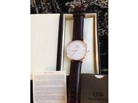 AS NEW GENUINE DW WATCH BOXED