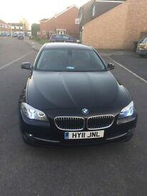 Bmw 520d, 2011, sat nav, heated seats, brown leather