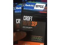 2 Tickets to BTCC Croft / 18-19th September