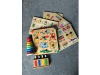 Baby / toddler wooden toys
