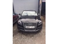 Gorgeous Audi Q7 for sale - Non Runner, needs engine.