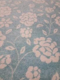 New light blue and beige rug 5 ft x 3 ft £36