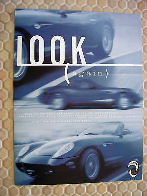 PANOZ OFFICIAL ESPERANTE FIRST PRODUCTION SALES BROCHURE 1999 USA EDITION