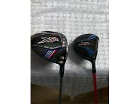 Callaway XR driver and 3 wood