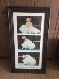 Marylin Monroe Framed Picture