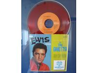"Red 7"" Vinyl - In The Ghetto by Elvis Presley"