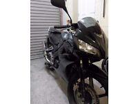 Honda CBR 125 R 2008 Black , 4keys , service history, V5 , Users Manual