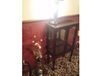 Display cabinet . Mahogany wooden . Can deliver