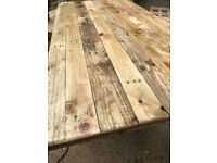 Reclaimed Wood Table Tops x 5 ( 120cm x 70cm )