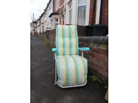 Deck chair for free