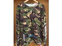 Off White Camouflage Jumper size XL Brand New