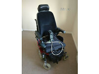 Quickie Salsa Fast 6mph Version, Led Lights, Seat Tilt. Electric Power Wheelchair. FREE Delivery.