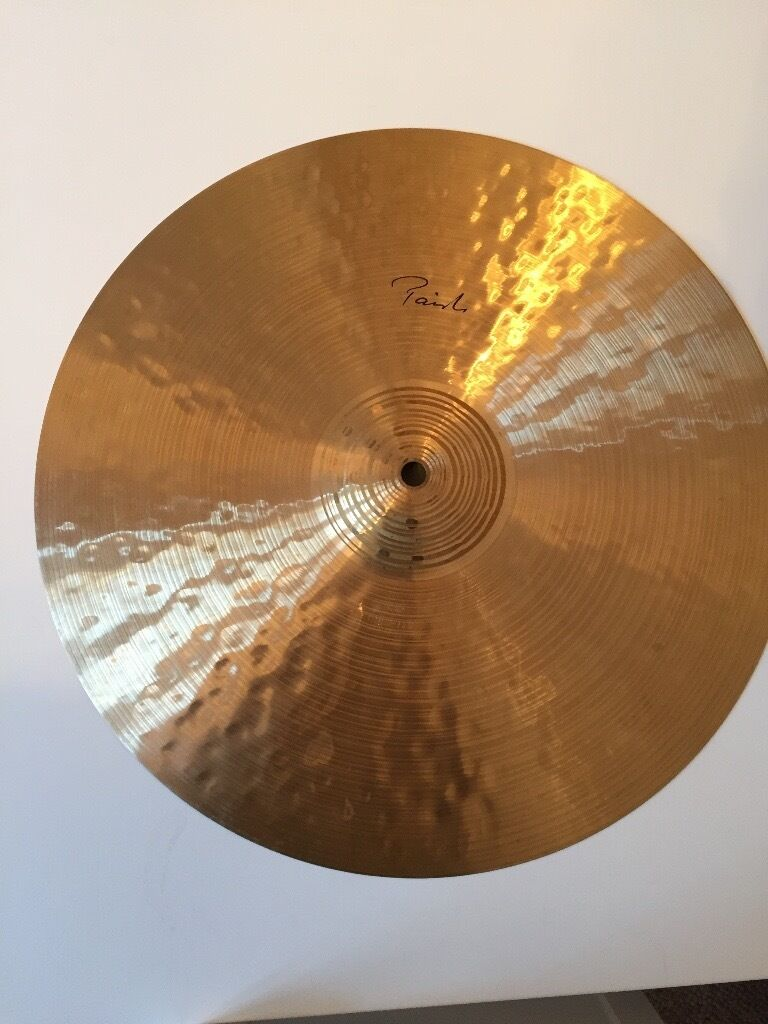 "PAISTE 16"" Traditional Thin Crash Cymbal (Hardly UsedLike Newin Penylan, CardiffGumtree - PAISTE 16"" TRADITIONAL THIN CRASH CYMBAL (Hardly Used Like New) Hardly used Crash Cymbal from Paiste Traditional Collection 16"" Thin Background Re create lost cymbal sounds from the Blues, Swing, Big Band, Cool Jazz, Be Bop and Hard Bop era of the..."