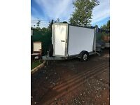 Ifor Williams Box Van Trailer BV84 in very good condition