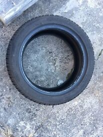 Dunlop SP Winter Sport 3D tyres 205/50/17 - Like new - 4 tyres