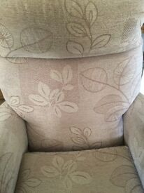 Upright lounge chair, going for free.