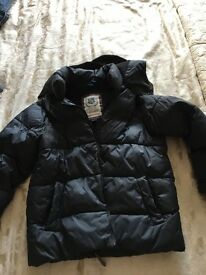 Age 7 next navy blue coat