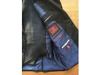 M&S Pin Stripe 3 Piece Gents Suit with Extra Waist Coat. Great Condition.