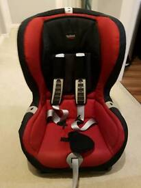 BritaxDuo Plus ISOFIX Forward Facing Group 1 Car Seat