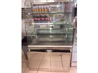 commercial display fridge with FULL WORKING ORDER Very clean condition for sale only £450 each
