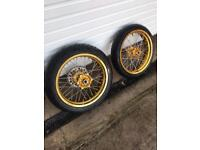 Supermoto wheels Ktm super moto road wheels