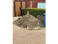 Soil / rubble infill - circa 2 or 3 tonnes - free to collect