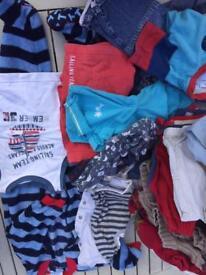 Boys bundle 12-18 m Summer 35 items