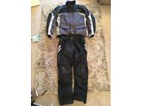 RST motorcycle textile jacket and jeans XL
