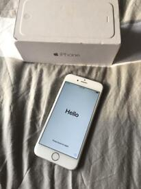 iPhone 6, 64GB, Silver & White
