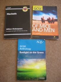 Literature notes for Macbeth & Of Mice and Men, Sunlight on the Grass anthology
