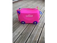 Girls pink trunki
