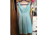 2 NEW-blue/green Coast Dress, perfect for bridesmaids! Great material, new with tags on, never worn.