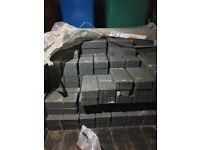 Brand New around 200 Driveway Charcoal Block paving (L)200mm (W)100mm + Grit/Sharp sand + Grano dust